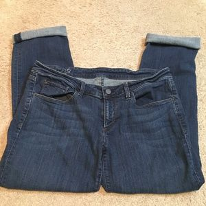 Ann Taylor Frayed or Rolled Pants Sz 6